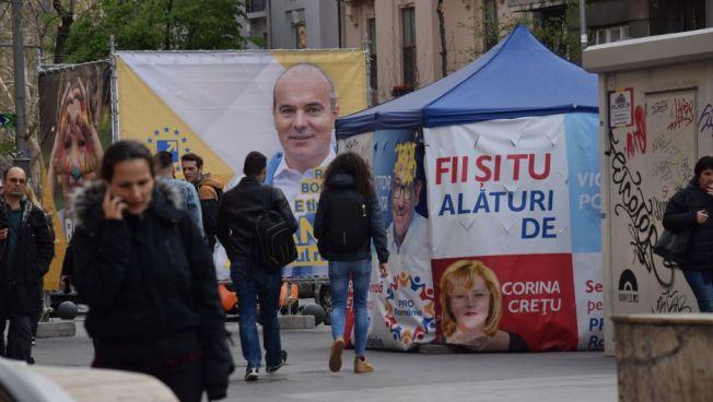 Wahlkampf, Rumänien, Europawahl, Stiftung für die Freiheit, Raimar Wagner