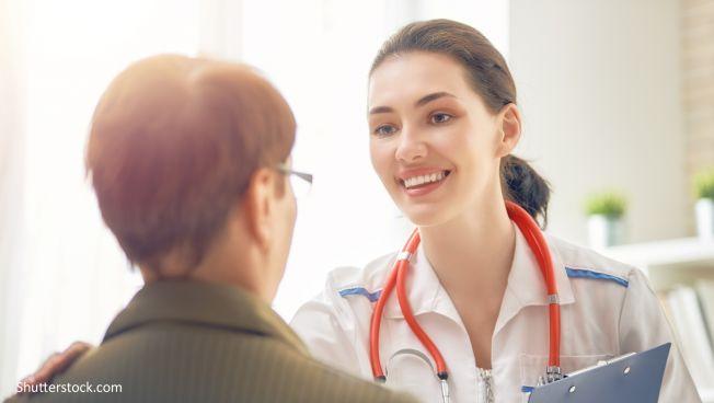 Ärztin, Patient, Krankenhaus, Gesundheit