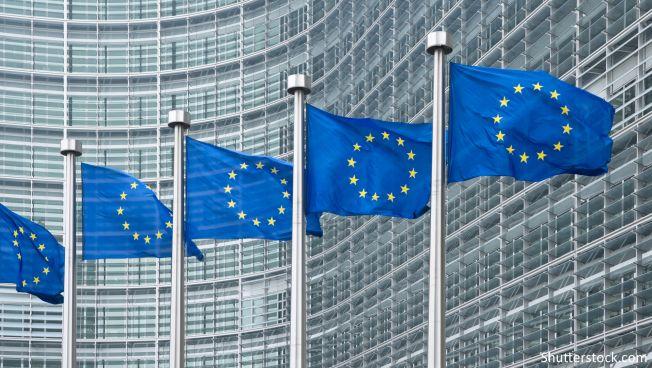 EU-Kommission, EU-Flagge, Brüssel