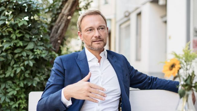 Christian Lindner, FDP-Chef, Interview, ARD, Sommerinterview
