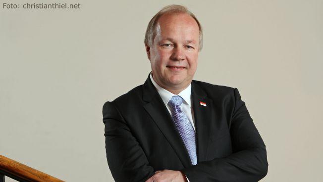 FDP-Spitzenkandidat Hans-Peter Goetz