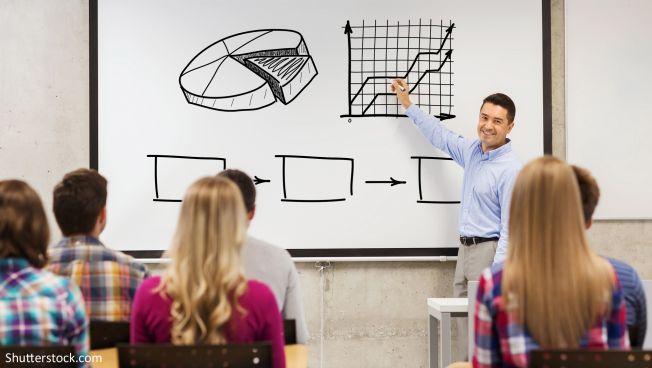 Schule, Whiteboard, White board, Unterricht, schüler, lehrer
