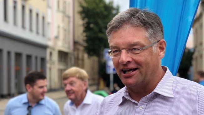 Holger Zastrow im Wahlkampf