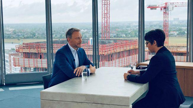 Christian Lindner, FDP-Chef, Interview, Sommer-Interview, Klima,
