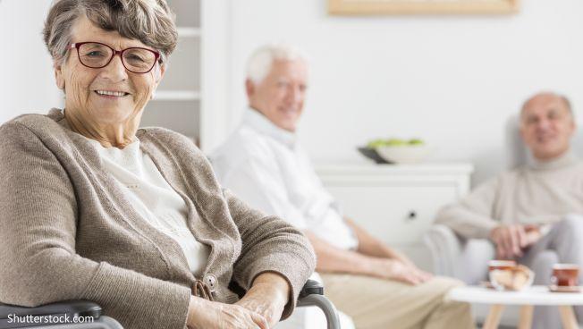 Pflege, Menschen, Senioren,