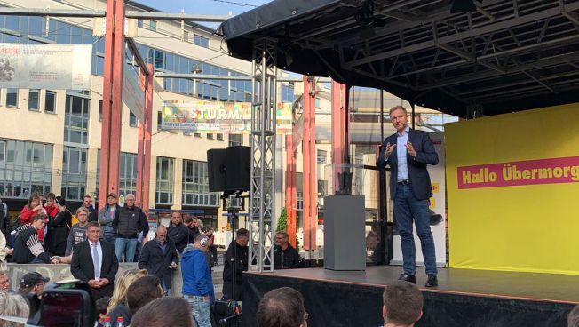 Christian Lindner in Jena