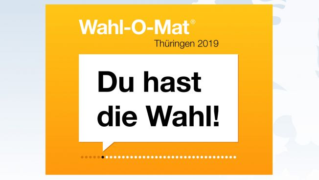 Wahl-O-Mat, Thüringen, Landtagswahl