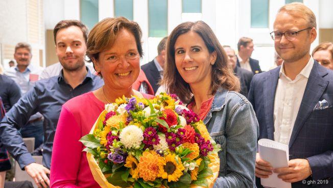 Anna von Treuenfels-Frowein und Katja Suding