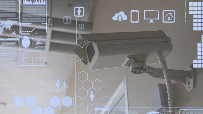 Überwachung: Videokamera
