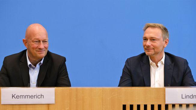Thomas L. Kemmerich und Christian Lindner