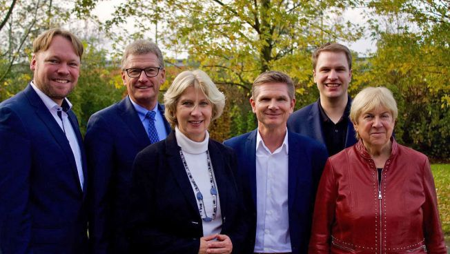 Oliver Kumbartzky, Bernd Buchholz, Anita Klahn, Heiner Garg, Christopher Vogt, Margit Fuhrmann