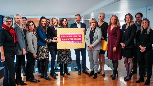 """Gruppenbild AG """"Frauen und Gleichstellung"""""""