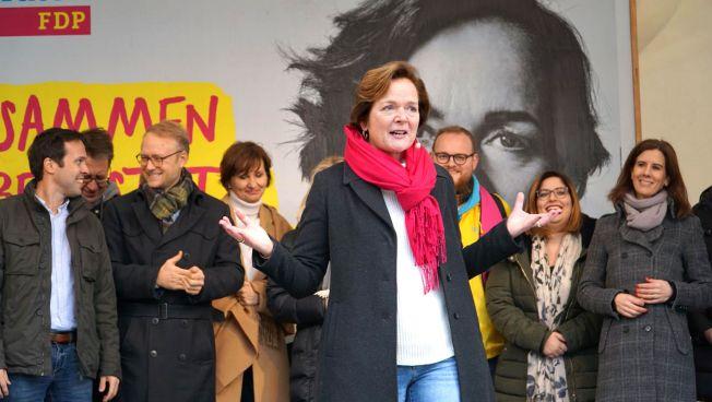 Aktionstag der FDP Hamburg mit Anna von Treuenfels-Frowein