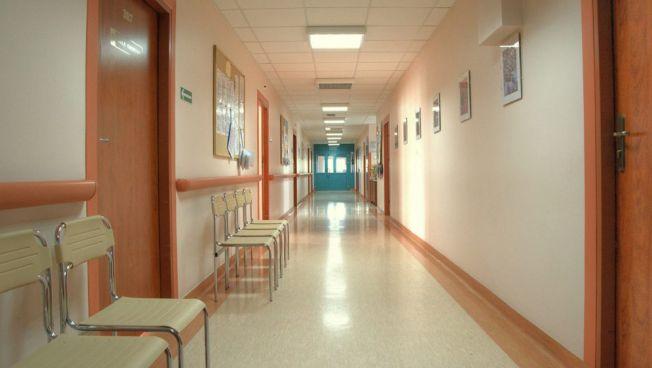leerer Krankenhausflur