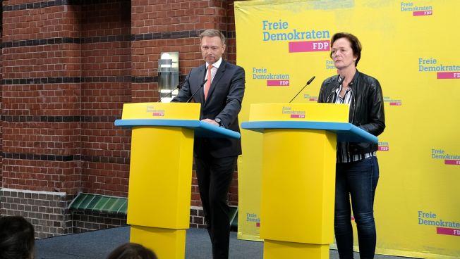 Christian Lindner und Anna von Treuenfels