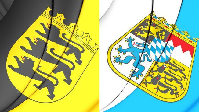 flaggen baden-württemberg, bayern