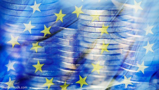 Euro, EU-Fahne