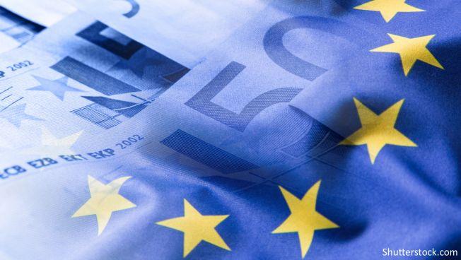 Europa, Flaggen, Münzen