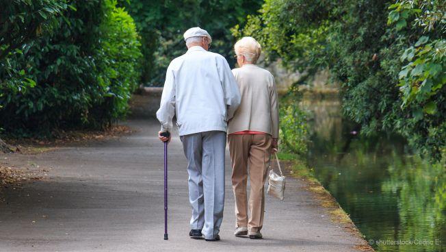 Renterpaar, Spaziergang