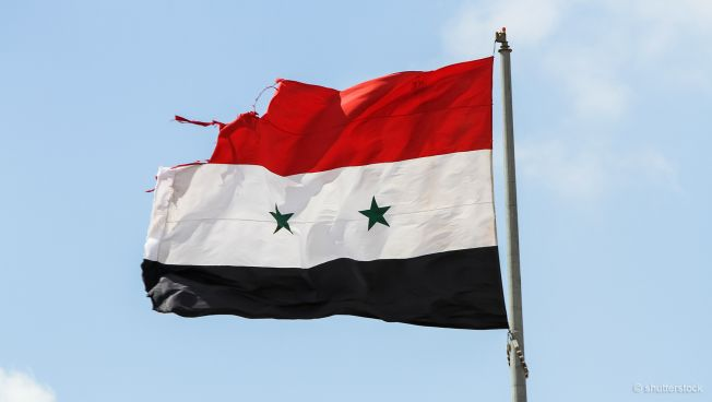 Syrien, Flagge
