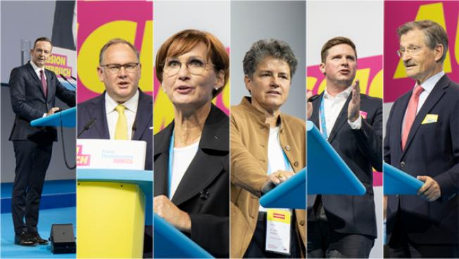 Volker Wissing, Harald Christ, Bettina Stark-Watzinger, Lydia Hüskens, Florian Toncar