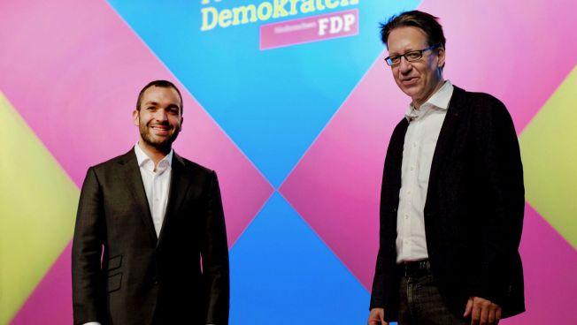 FDP Niedersachsen, Generalsekretär Konstantin Kuhle, Landesvorsitzender Stefan Birkner