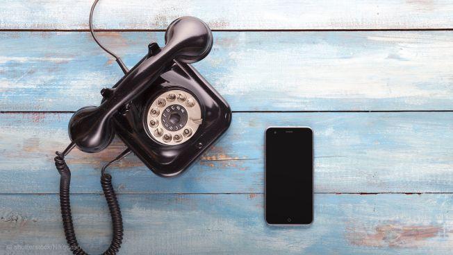 telefon mit Wählschieb,Smartphone