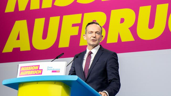 Volker Wissing, FDP-Generalsekretär