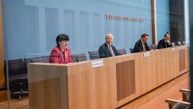 Christine Aschenberg-Dugnus, Michael Theurer und Christian Lindner
