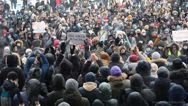 Demonstrationen in Russland