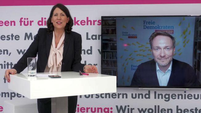 Daniela Schmitt, Christian Lindner