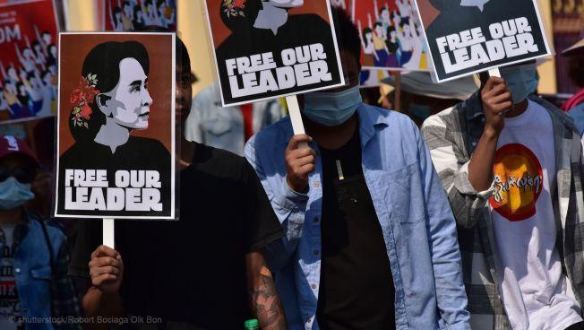Myanmar, Proteste