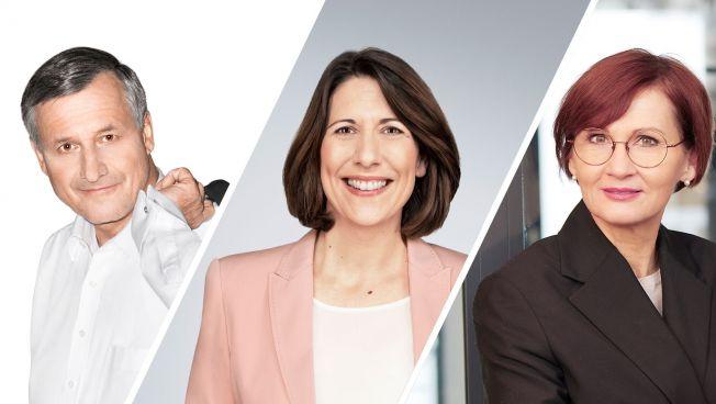 Hans-Ulrich Rülke, Daniela Schmitt, Bettina Stark-Watzinger