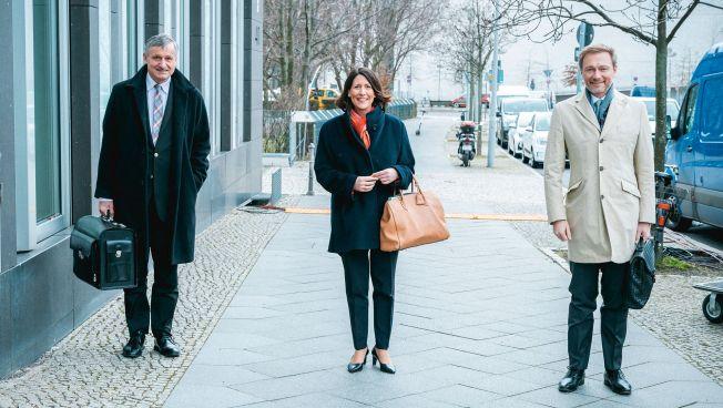 Hans-Ulrich Rülke, Daniela Schmitt, Christian Lindner