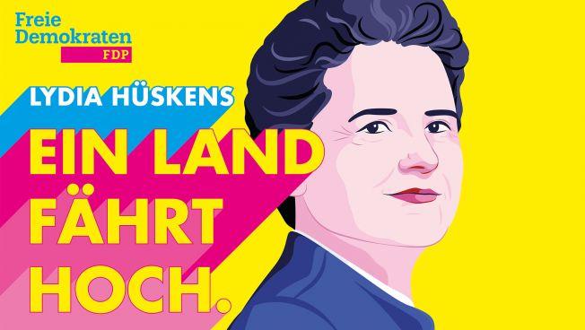 Lydia Hüskens, FDP-Spitzenkandidatin