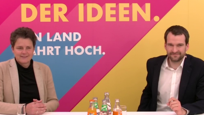 Lydia Hüskens, Johannes Vogel