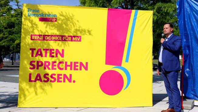 """Kampagne """"Taten sprechen lassen"""", Rene Domke"""