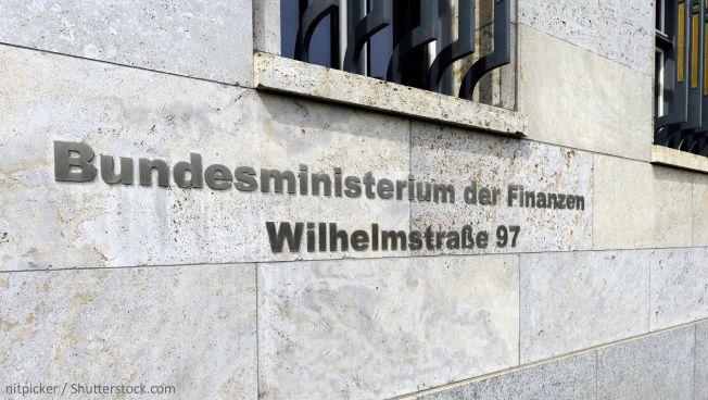 Das Bundesfinanzministerium in Berlin. Bild: nitpicker / Shutterstock.com