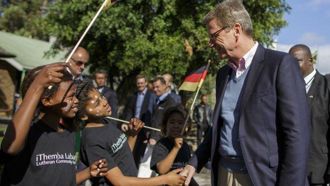 Guido Westerwelle in Kapstadt. Foto: Auswärtiges Amt