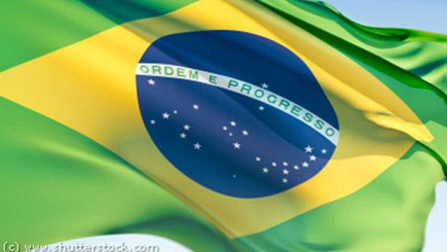 Brasilanische Nationalfahne