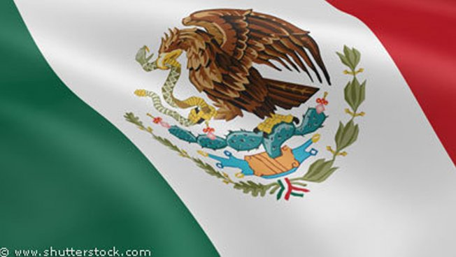 Mexikanische Nationalfahne