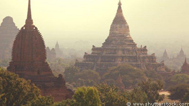 Bagan-Tempel in Myanmar