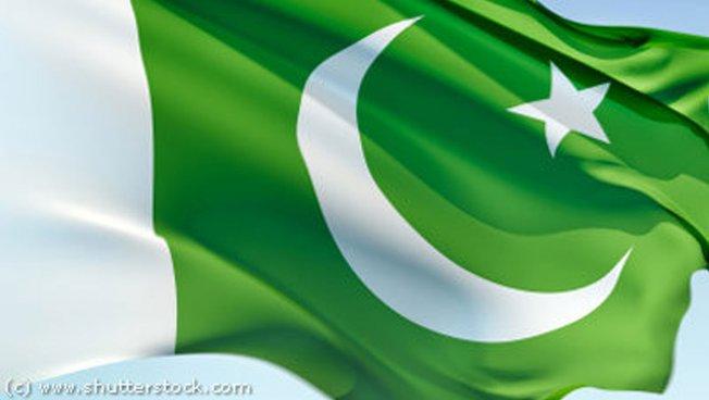 Pakistanische Nationalfahne
