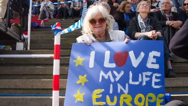 Bonny Maercker bekennt sich klar zu Europa