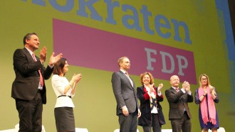 Christian Lindner überzeugt in Stuttgart. Bild: Ann-Sophie Baumert / FDP-BW
