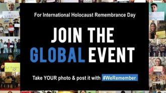 Foto-Aktion #WeRemember