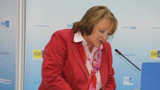 Sabine Leutheusser-Schnarrenberger redet zum Urheberrecht