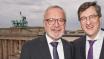 Werner Hoyer, Redner des Abends, und Karl-Heinz Paqué