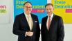 Harald Christ, FDP-Bundesschatzmeister, Christian Lindner, FDP-Chef